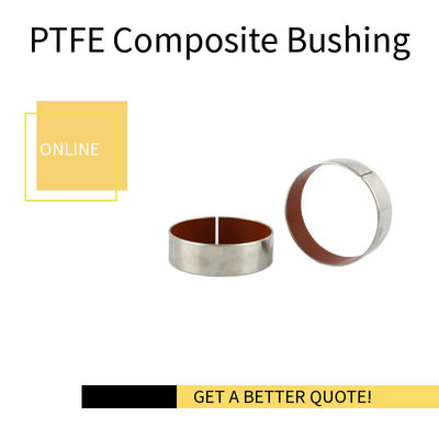 Stainless Steel Dry Bush Coating Teflon | Valve Bushing